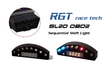 OBD2 Sequential shift light shiftlight tachometer RGT race tech SL20