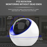 HD 1080P Wireless Pan Tilt WiFi IP Camera CCTV Baby Monitor Home Security IR Cam