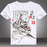 Einfach Yu-gi-oh Anime Manga Motiv Cosplay Rundhals T-shirt Shirt Kostüme Polyester Manga & Anime