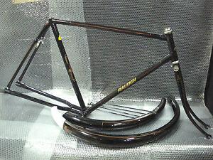 "Vintage Bicycle RALEIGH DL1 FRAME set 22"" for 28"" wheel Roadster NOS 1970s"
