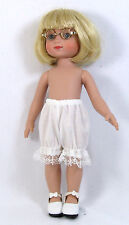 "White Doll Bloomers fits Ann Estelle, 10"" Dolls 3-pair Vee'sVictorians"