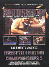 """Bad Breed TV """"3: Freestyle FC 5"""" 2003 *NO CASE DISC ONLY*"""