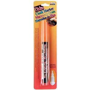 Bistro Chalk Marker Fine Point 1/Pkg-Fluorescent Orange Marvy