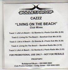 (CS500) Cazzz, Living On The Beach - DJ CD