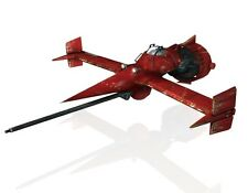 Swordfish Cowboy Bebop Spacecraft Mahogany Wood Model Large New