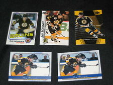 LOT (5) RAY BOURQUE NHL STAR LEGEND AUTHENTIC VINTAGE HOCKEY CARDS NICE!!!