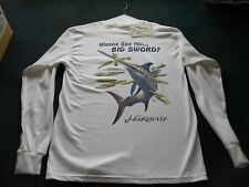 fishing t-shirt tshirt swordfish LONGSLEEVE XL LURE