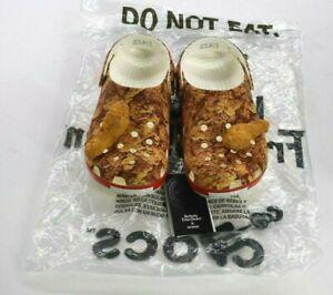 KFC Crocs Chicken Dangle Kentrucky Fried Chicken Limited Sold Out Slides Pick Sz
