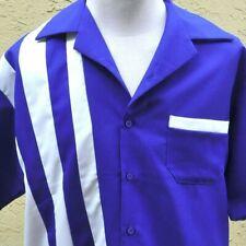 Google Racing Bowling Retro L Camp Shirt Large Mens USA Made Employee New