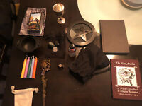 Witchcraft Lot Wicca Pagan - Tarot Runes Books Cauldron Wand Books And MUCH More