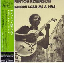 FENTON ROBINSON-SOMEBODY LOAN ME A DIME-JAPAN MINI LP CD F04