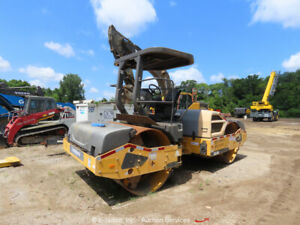 2014 Volvo DD120B Smooth Double Drum Vibratory Ride On Roller -Parts/Repair