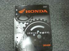 2007 Honda Model CRF450R Dirt Bike Motorcycle Shop Service Repair Manual