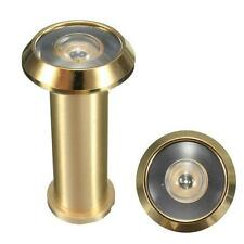 New Door Sight Hole 180 Degree Brass Viewer Adjustable Wide Security Angle