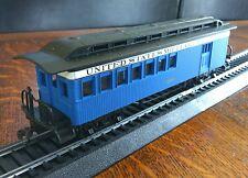 Bachmann HO Model Train Civil War Car Coach 2160 United States Military Rail Set