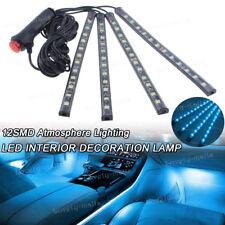 8000K Ice Blue 12 LED Car Kit Interior Under Dash Footwell Seats Inside Lighting