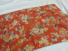 Ralph Lauren Qty 1 King Pillow Sham Bold Orange W/Poppy Floral