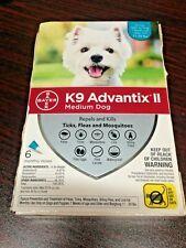 New listing K9 Advantix Ii Flea Medicine Medium Dog 6 Month Supply - 11-20 lbs New