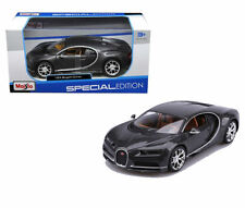 MAISTO BUGATTI CHIRON GREY 1:24 DIECAST MODEL CAR 31514
