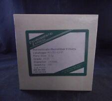 ENVIRONMENTAL EXPRESS 150mm Standard TCLP Filter Paper Borosilicate Glass 80/PK