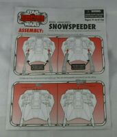 STAR WARS Hasbro Vehicle Manual  The Vintage Collection Snowspeeder manual 2010