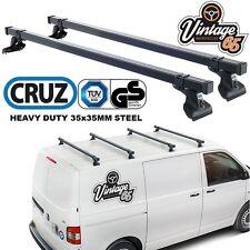 VW Transporter T5 Heavy Duty Roof Bars Roof Rack Cross Bars Pair TUV Approved