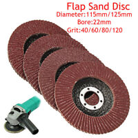 100pc Grinding Sandpaper Sanding Flap Wheel Disc 8 10 12mm Dia for Rotary Tool