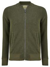 JOHN LEWIS & Co. Wool Blend Jersey Bomber Jacket, Khaki - BNWT UK SIze S RRP £69