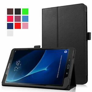 "Leather Tablet Stand Flip Cover Case Samsung Galaxy Tab A 10.5"" / A 7"" / A6 10.1"