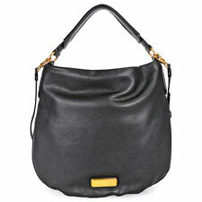 e2e1e9be417e Marc by Marc Jacobs Q Hillier Black Leather Hobo Bag M0005340