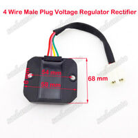 4 Wire Voltage Regulator Rectifier For GY6 50 125 150cc Moped Scooter Motorcycle