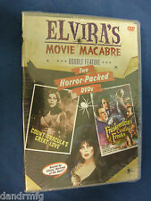 Elvira's Movie Macabre - Count Dracula's Great Love/Frankenstein's Castle... DVD