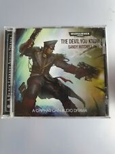 The Devil You know Audiobook cd Warhammer 40K Sandy Mitchell