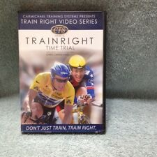 Carmichael Train Right The Time Trial Cycling Racing Training Dvd Free Shipping
