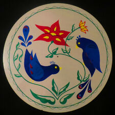 """16"""" New Zook's PA Dutch Blue Birds Of Happiness Hex Sign Made in the USA UNIQUE"""