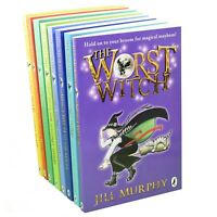 Worst Witch 8 Books Young Adult Collection Paperback Box Set By Jill Murphy