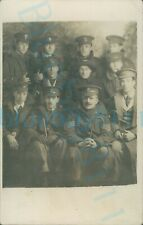 More details for ww1 mixed regiment group photo soldiers swb ramc asc re krrc etc
