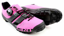 Giro Sica Techlace Women's MTB Carbon Shoes Clipless 8.5 US EUR 40 Pink EC70