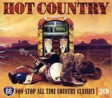 HOT COUNTRY - NON-STOP ALL TIME COUNTRY CLASSICS (NEW SEALED 2CD)