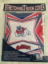 "Fresno State Bulldogs Stretch Book Cover Fits Most Books Up To 8"" By 10"""