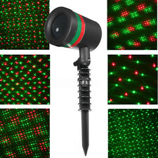 Star Light RED GREEN Shower Laser LED Projector Outdoor Garden Christmas Lamp
