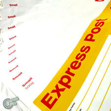 10 EXPRESS Prepaid 500g Satchel Yellow AusPost Post Office Parcel Small Bag