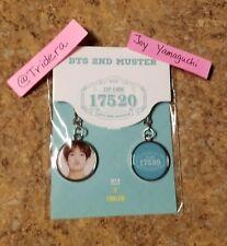 BTS 2nd Muster Goods Key Ring D Set V & Emblem Bangtan Boys KPOP Zip Code 17520