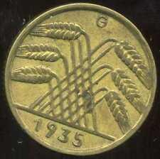 ALLEMAGNE 10  reichspfennig  1935 G