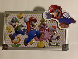 Super Mario Bros Locking Supply Box Vaultz Official Nintendo / Keys New