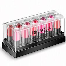 12pcs/Set Lipsticks Long Lasting Mini Lipstick Lip Gloss Cream Moisturizing Hot