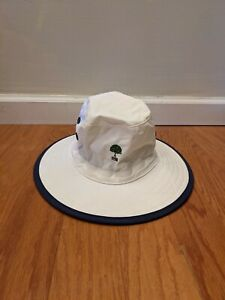 Watership Imperial White/Blue Boonie Bucket Golf/Sun Hat Size L