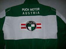 Nuevo Puch Austria Oldtimer fan-chaqueta Veste jas giacca Jakka verde blanco
