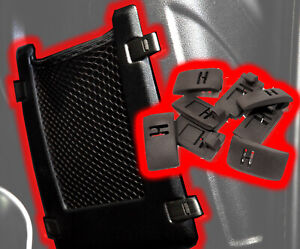 2006-2010 Hummer H3 / H3T Upgraded Front Seat Net Clips - Lased Designs
