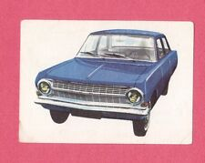 Opel Rekord 1964 Car Jacques Chocolate Card from Belgium #166